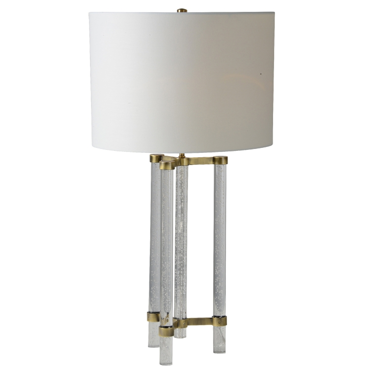 Dais Table Lamp - Antique Gold Plated