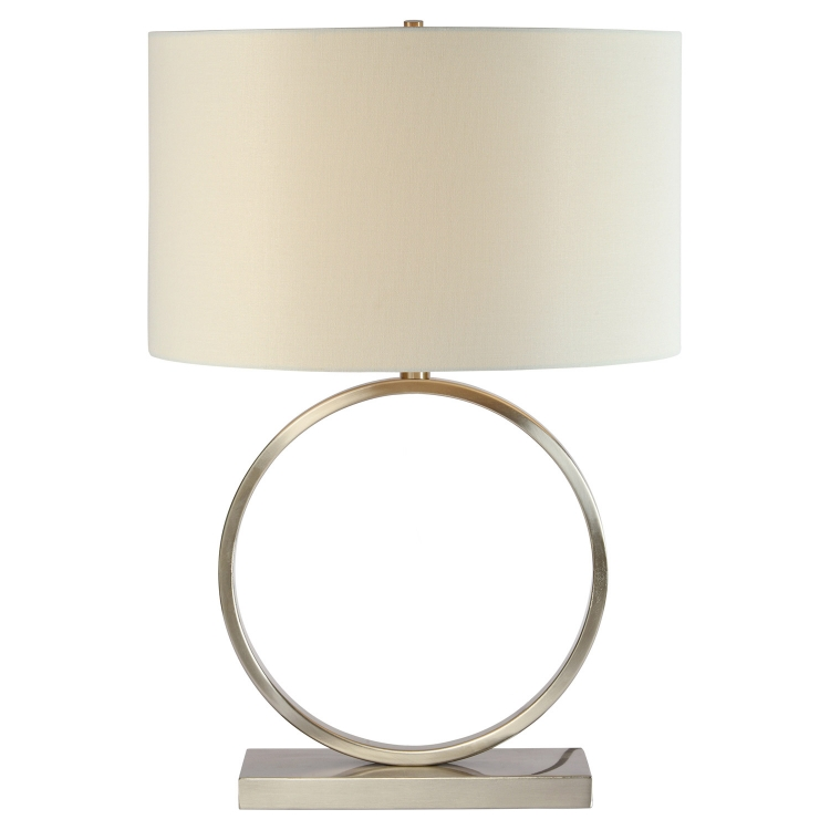 Westpark Table Lamp - Satin Nickel
