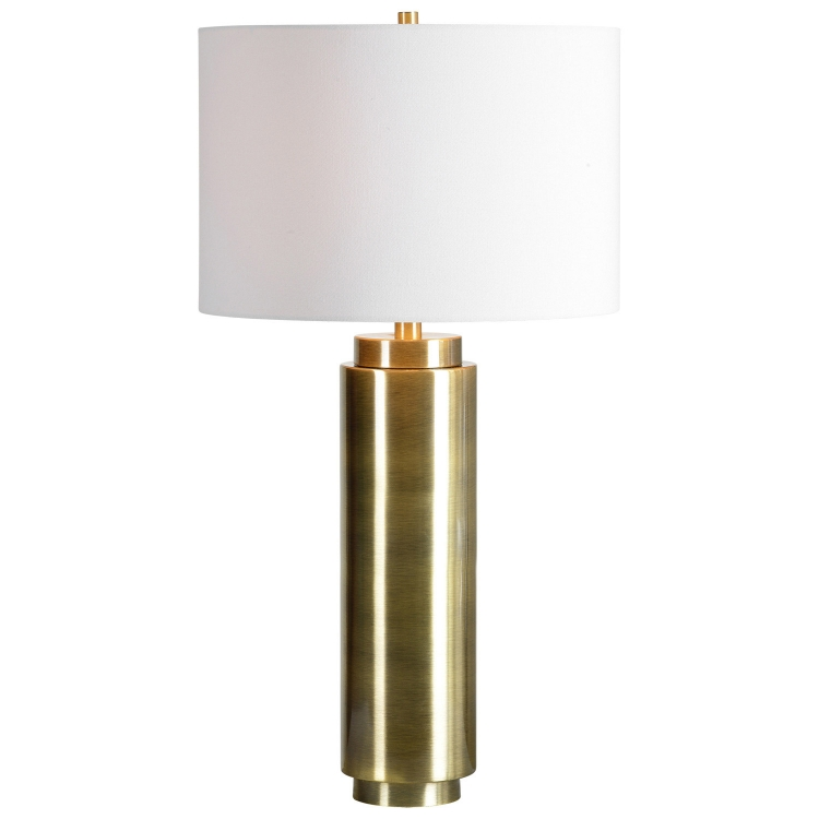 Amelia Table Lamp - Bright Nickel