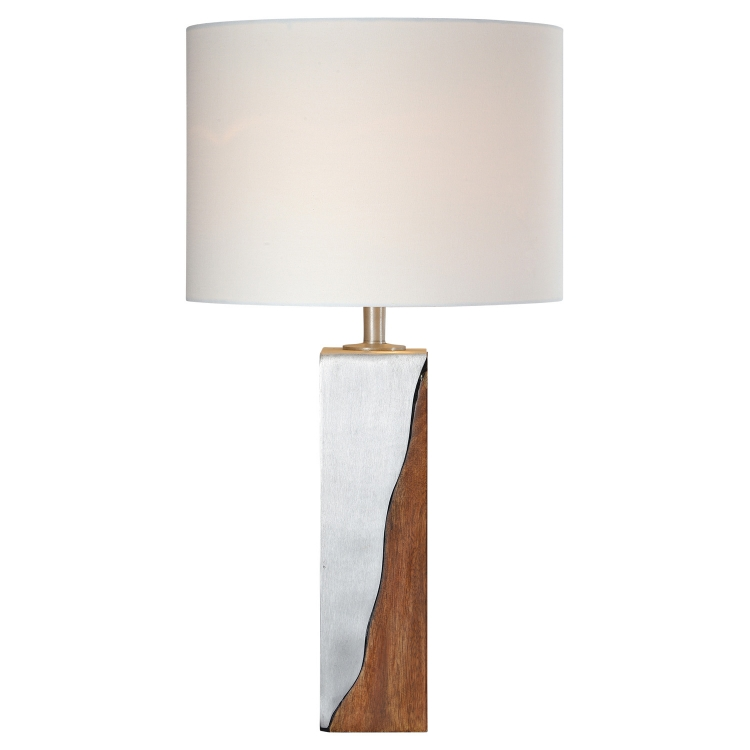 Maple Table Lamp - Sesham Wood
