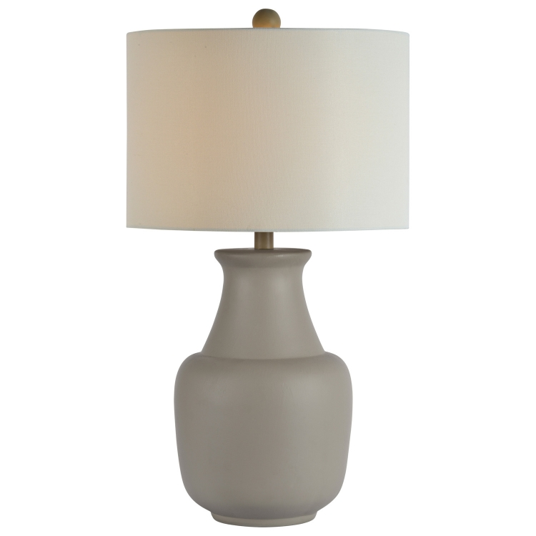 Bonita Table Lamp - Grey