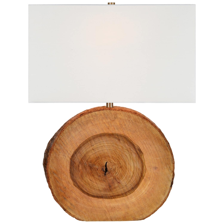 Elixa Table Lamp - Natural Wood