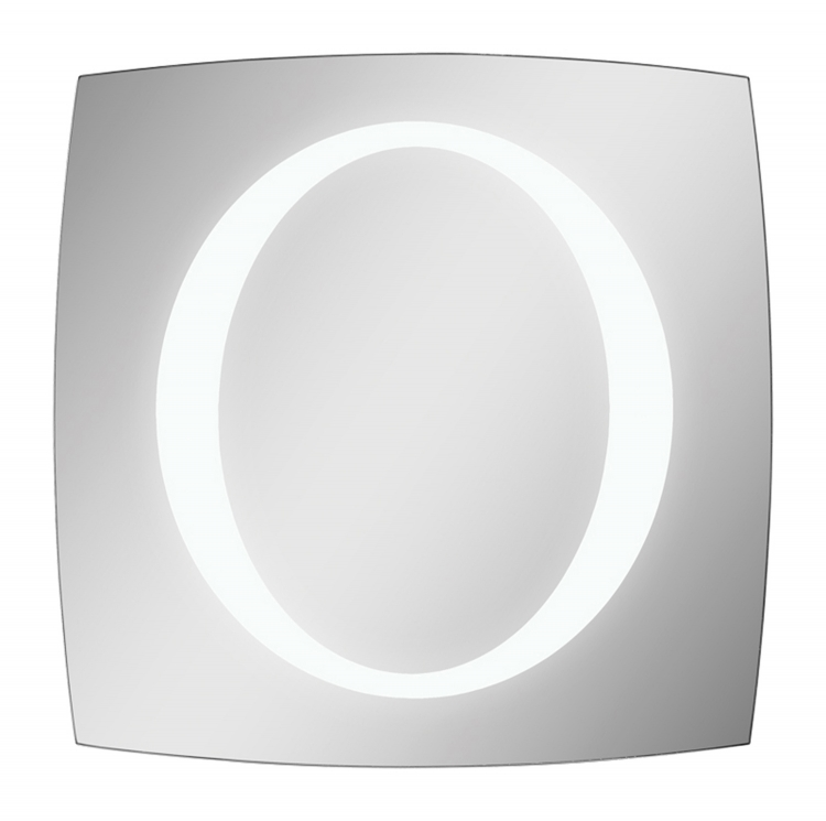 Square Trent Lighted LED Mirror