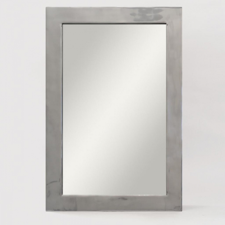 Bauer Mirror - Polished Nickel