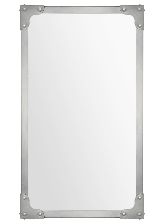 Tia Mirror - Satin Nickel