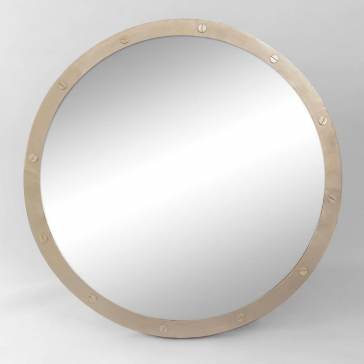 Hudson Mirror - Nickel Plated