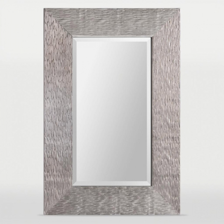 Helen Mirror - Antique Silver