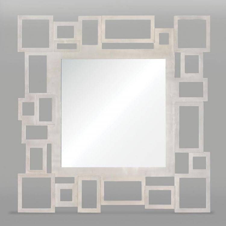 Malmo Mirror - Brushed Nickel