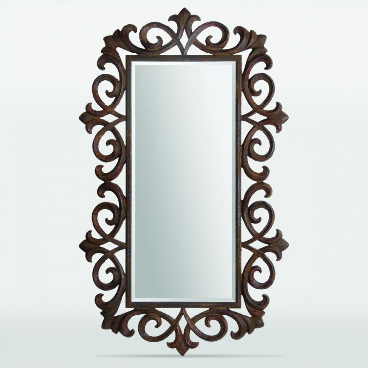 Freehold Mirror - Rusty Bronze