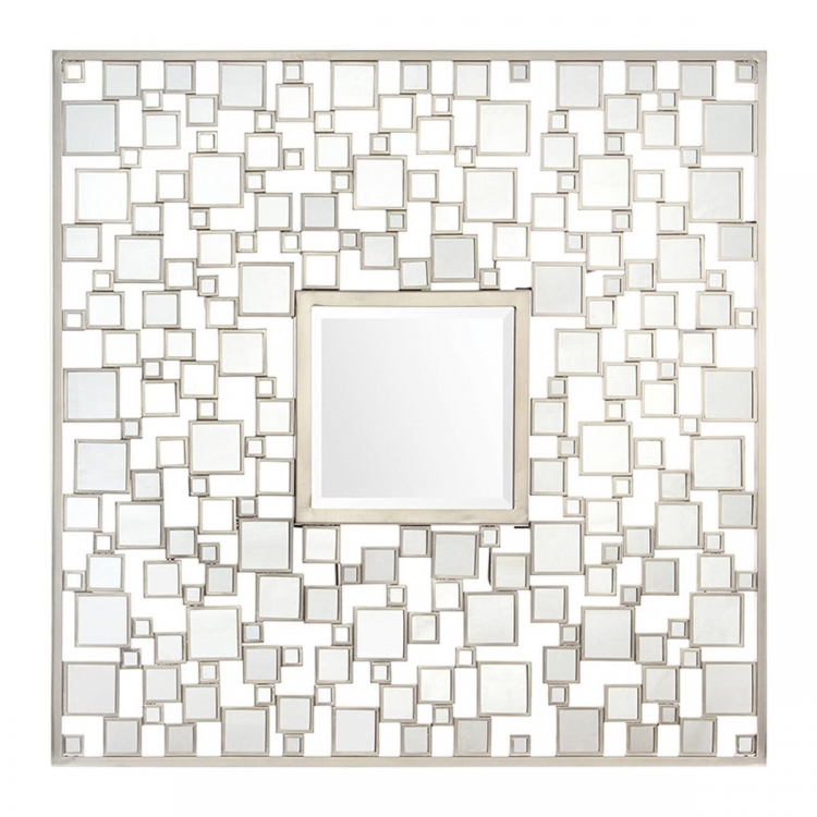 MT1536 Pixel Mirror - Silver Leaf