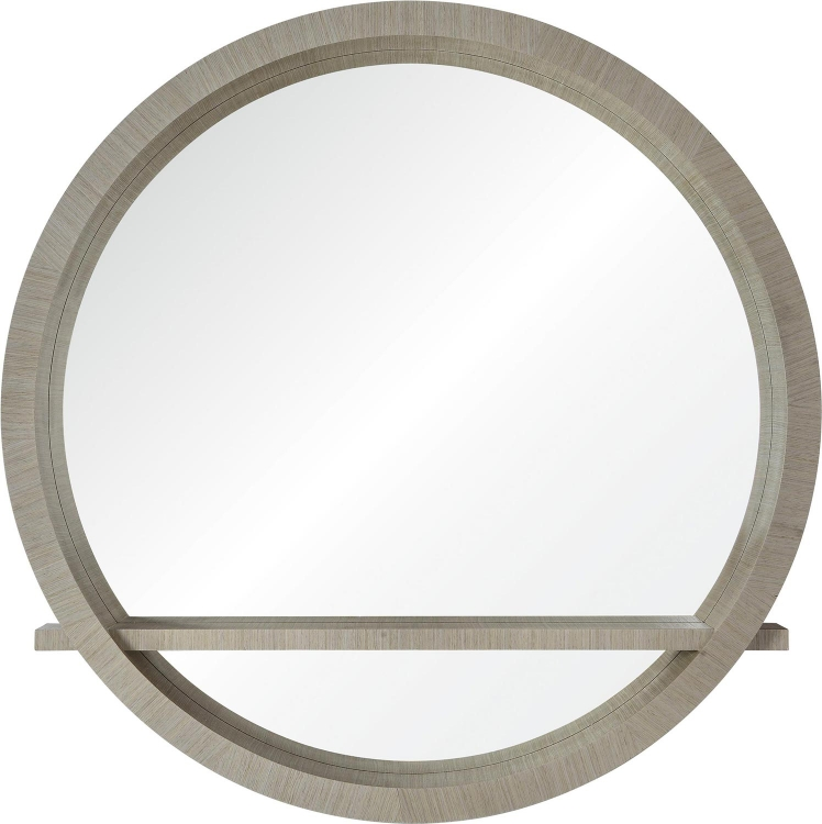 Marma Mirror - Light Grey veneer