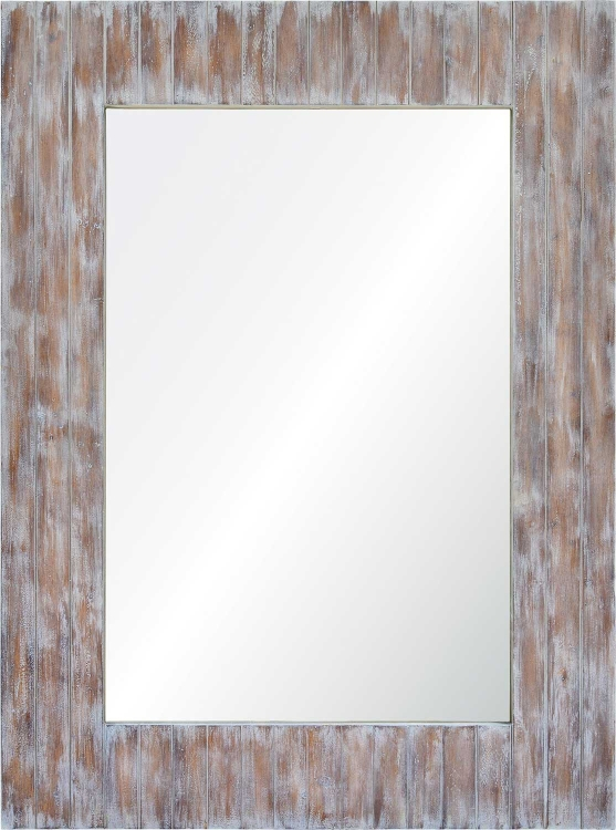 Perla Mirror - Grey wash