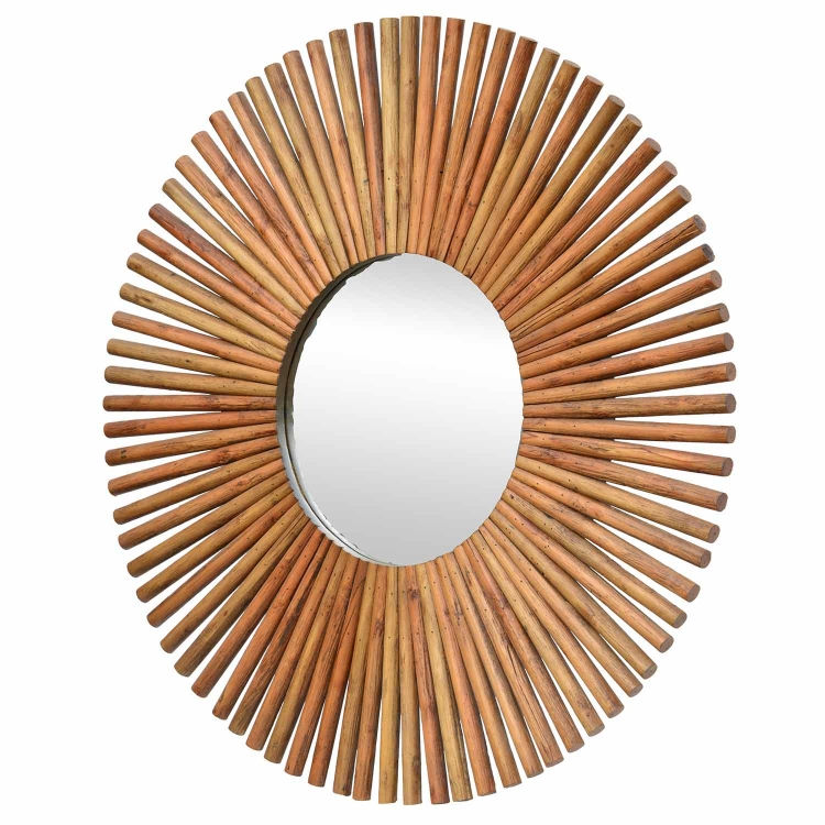 Archer Mirror - Natural Wood