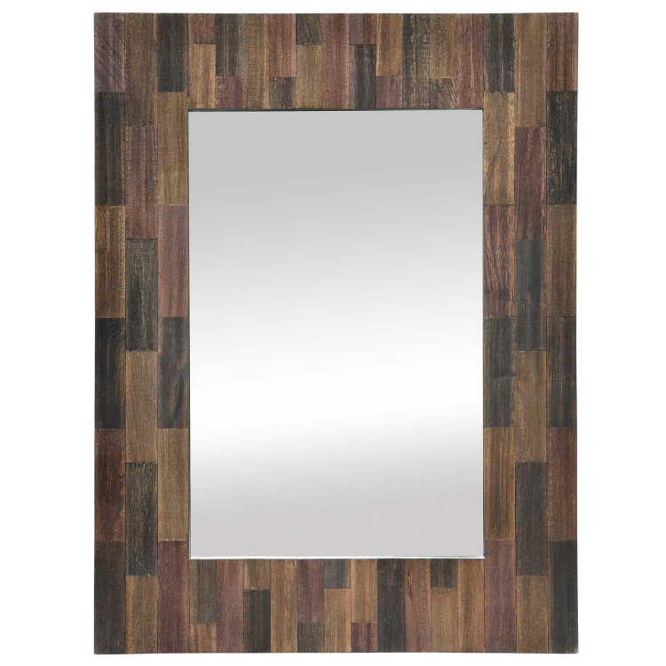 Craftsman Mirror - Natural Wood