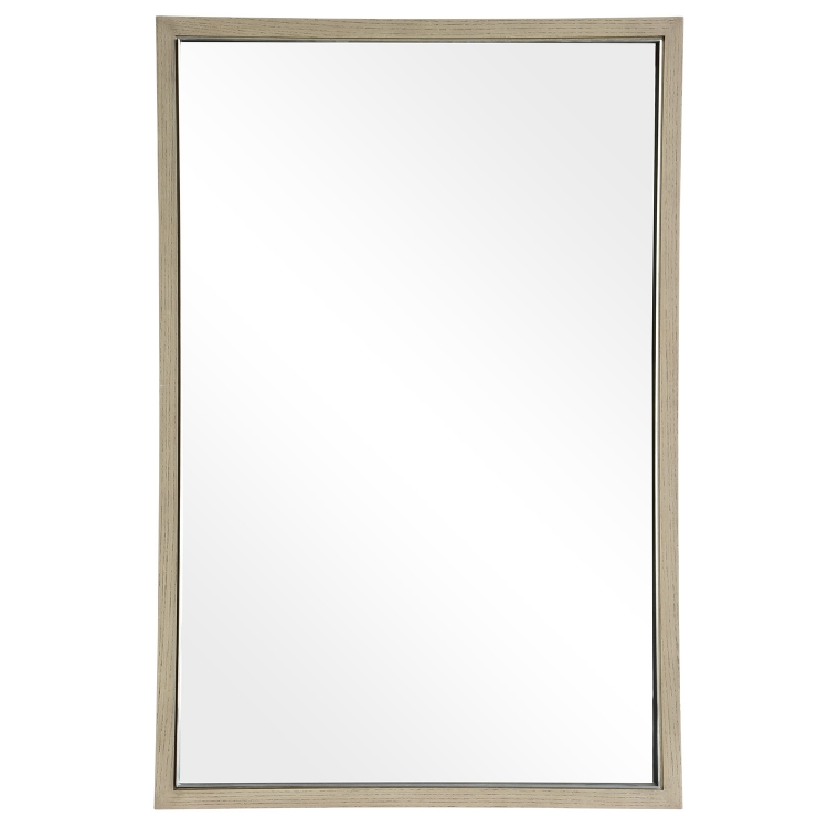 Amundsen Mirror - Stainless Steel/Wood