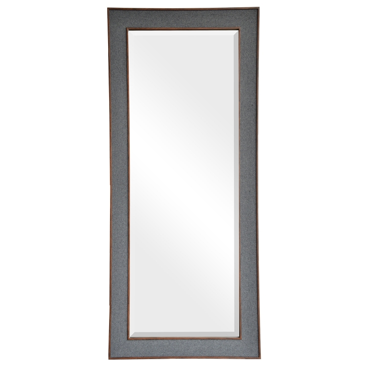 Adelie Mirror - Grey Fabric