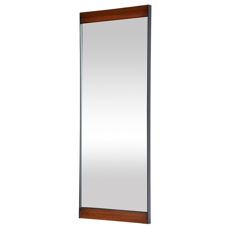 Marie Mirror - Stainless Steel/Wood