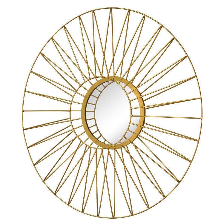 Parlier Mirror - Gold Leaf