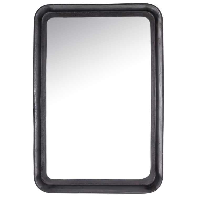 Drummond Rectangular Mirror - Dark Bronze