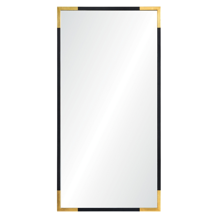 Osmond Rectangular Mirror - Gold/Black