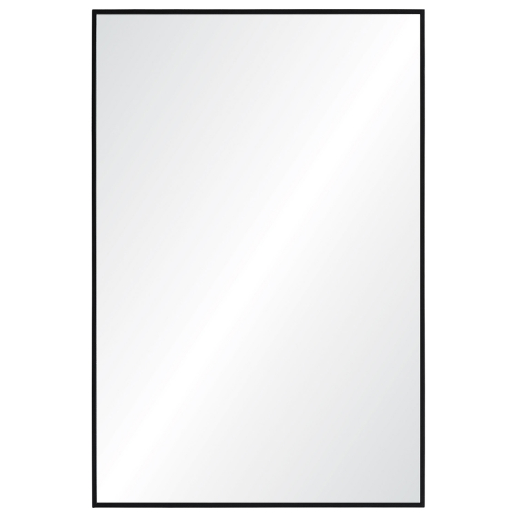Adams Rectangular Mirror - Black