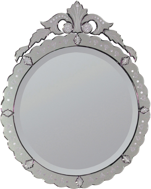 Portrait Venetian Bevel Mirror