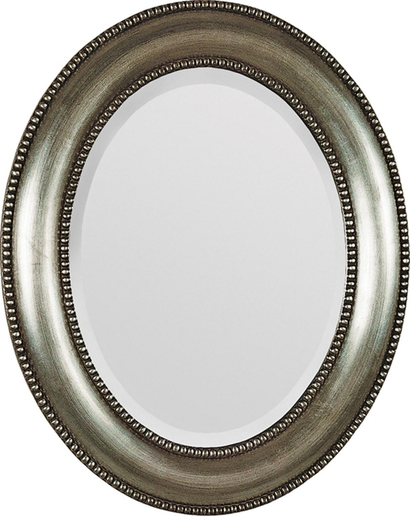 MT677 Portrait Oval Mirror- Silver - Ren-Wil