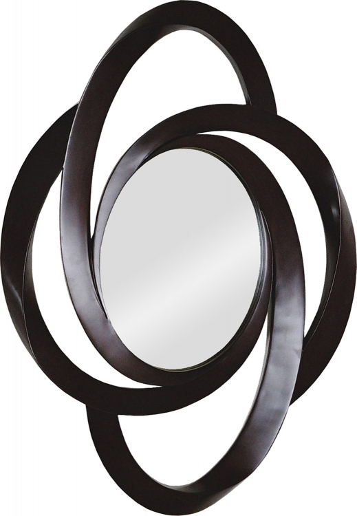 MT744 Portrait Mirror - Dark Brown