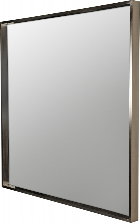 MT840 Portrait Mirror - Satin Nickel