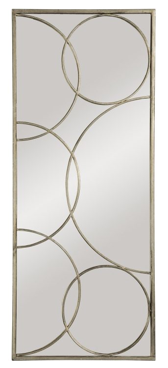 MT926 Portrait Mirror - Antique Silver