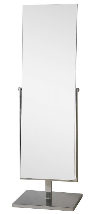 MT935 Vertical Mirror - Satin Nickel