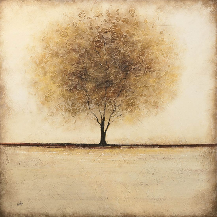 Silent Field Canvas Painting - Ren-Wil