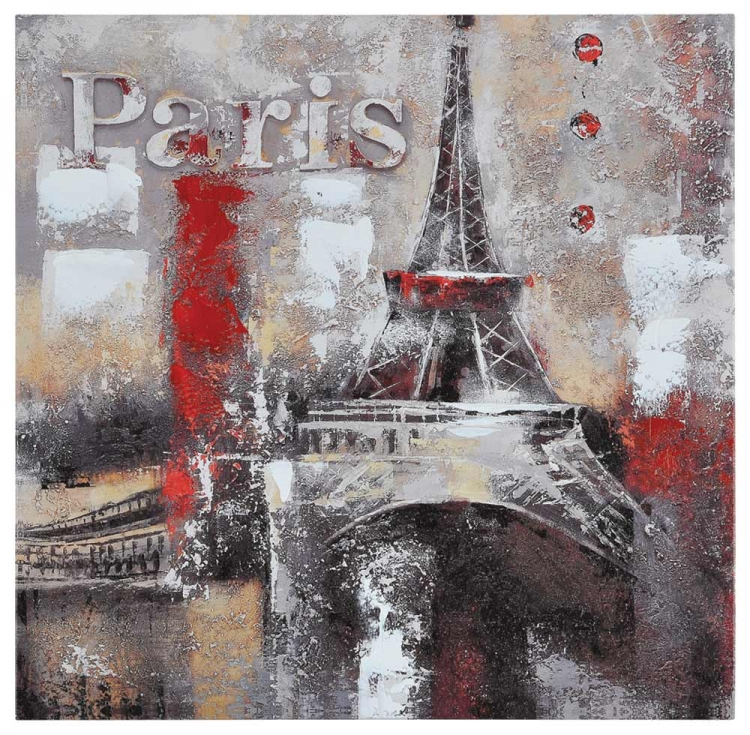 Memories of Paris Canvas Painting