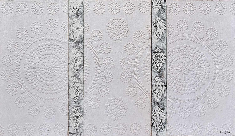 Delicate lace Canvas Painting - Ren-Wil