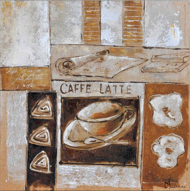 Caffe Canvas Painting
