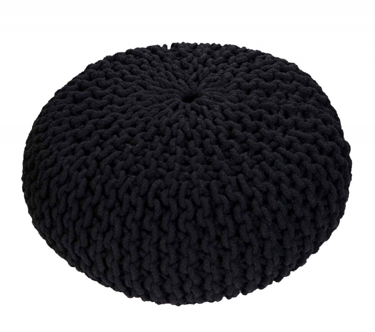 Amaris Pouf - Black