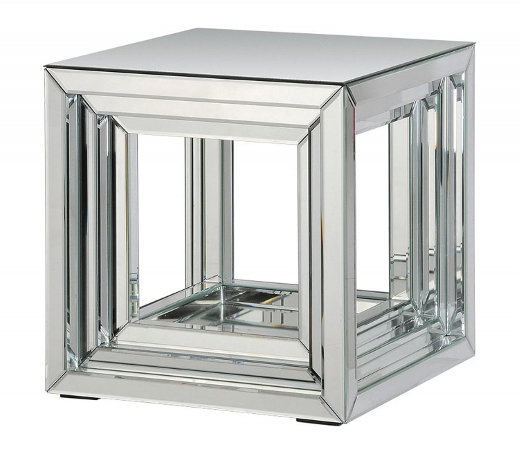 Side Accent Table - Glass - Ren-Wil