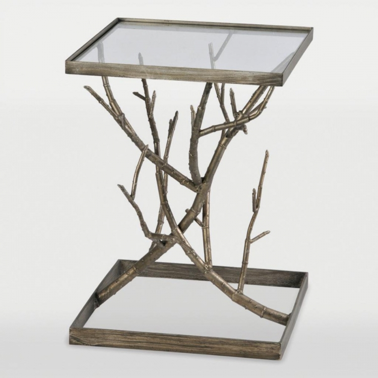 Synthesis Accent table - Antique silver