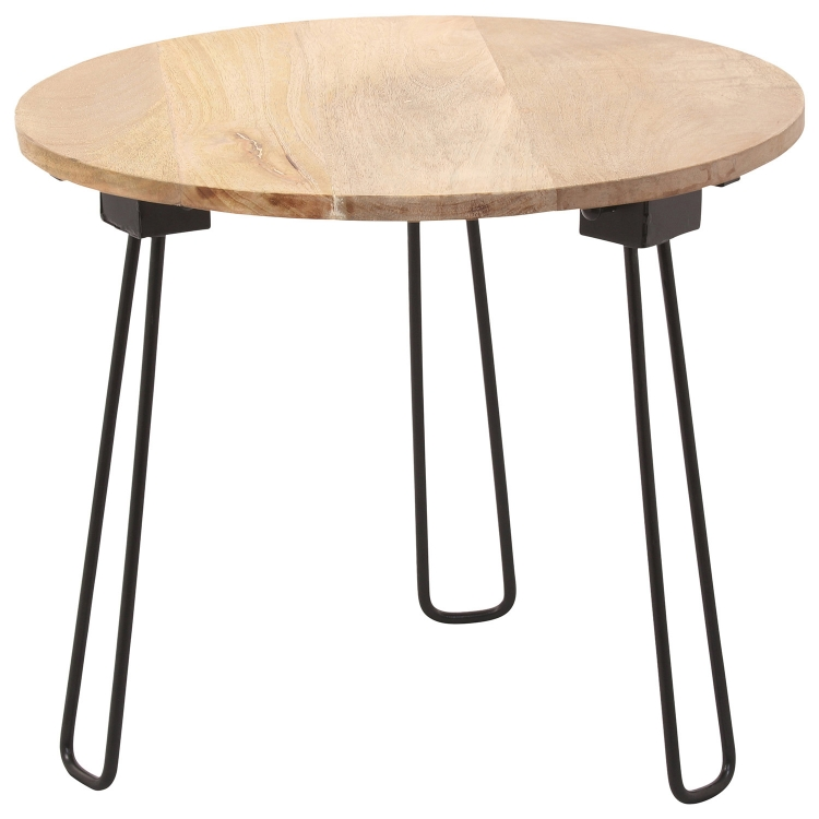 Medina I Accent table - Natural/Black