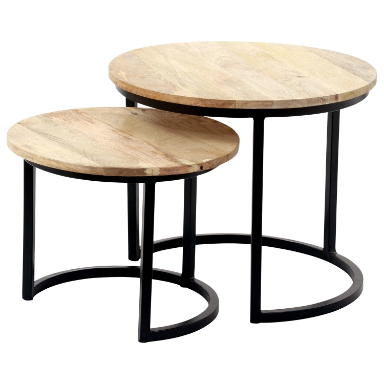 Kindred Accent table - Natural/Black