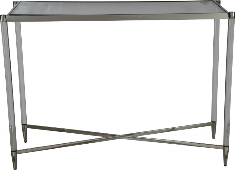 Zelda Console Table - Chrome