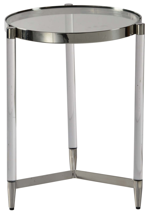 Shira Side Table - Chrome
