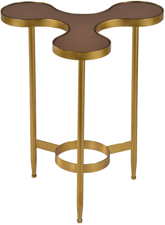 Jaco Side Table - Gold Leaf