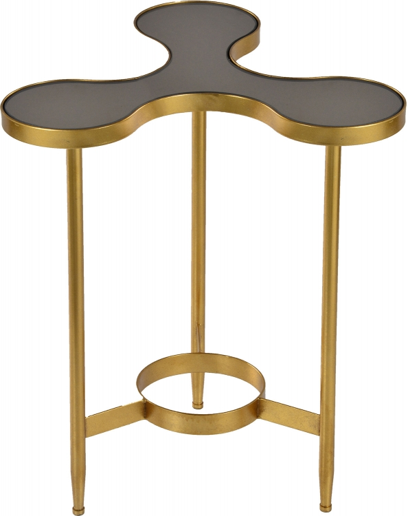 Rute Side Table - Gold Leaf