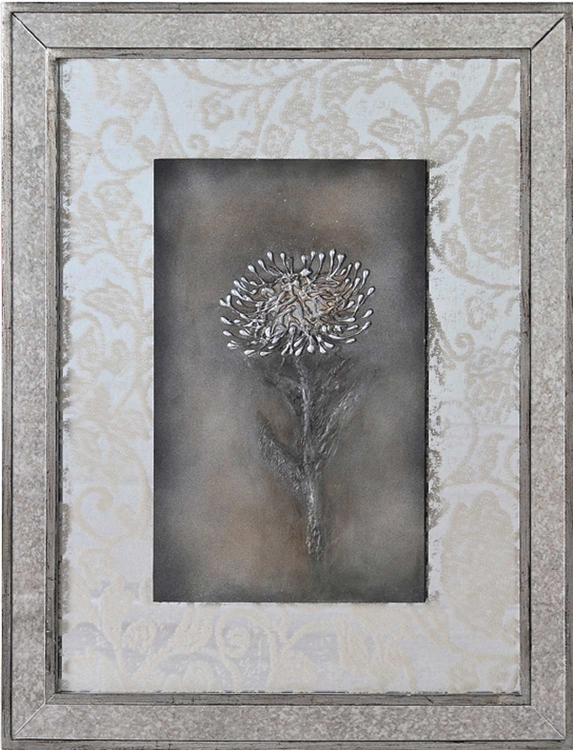 Floral Lace I Framed Painting