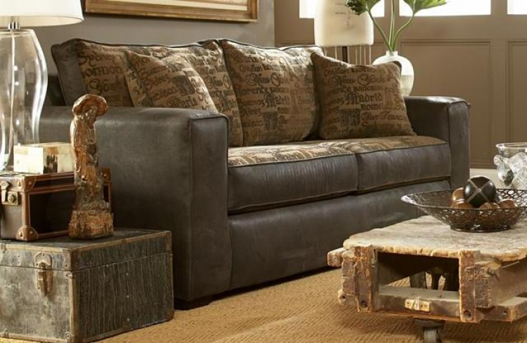 You Go Girl Sofa - Laramie Charcoal - Seven Devils