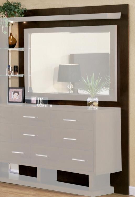 Signature Home Contempo Dresser Back Panels - Espresso