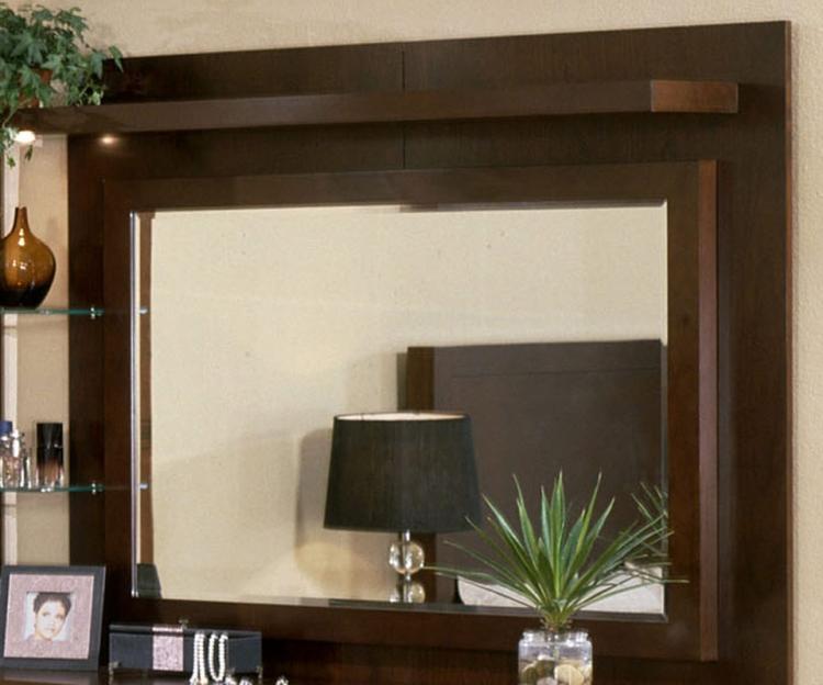 Signature Home Contempo Mirror - Espresso