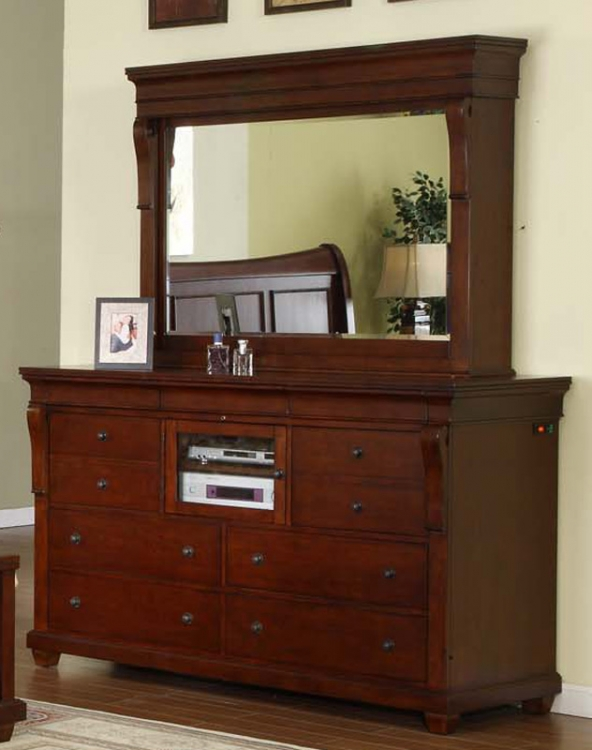 Raleigh Dresser with Mirror
