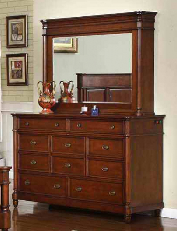 Durham Dresser with Mirror